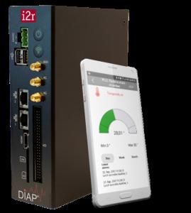 DIAP dataopsamlings unit fra i2r til stoptidsregistrering og oee