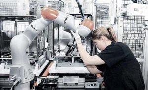 Cobots - samarbejdende robotter fra KUKA - kontakt i2r A/S