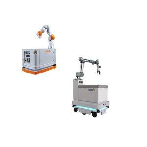 Mobile Platforme med robot