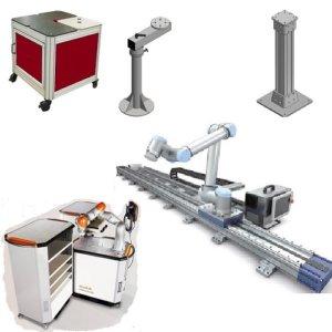 Stationære og semi-mobile platforme til robotter