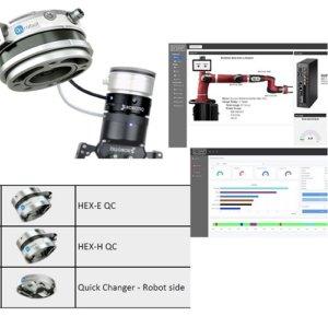 Tilbehør til robotter | Force/Torque, monteringskit, I/O-Link, Sensorer, Vision, Software