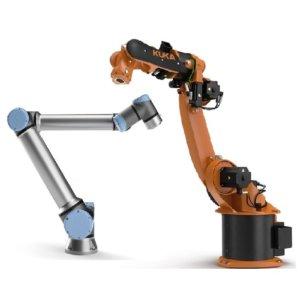 Salg af robotter Universal Robots og KUKA