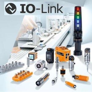 I/O-Link, Vision-sensorer, Positions sensorer, Identifikations systemer